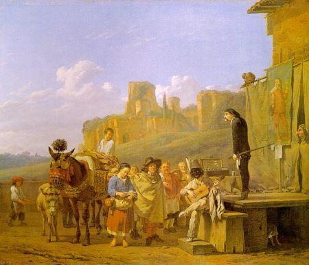 Karel Dujardin - Les charlatans italiens (1657)