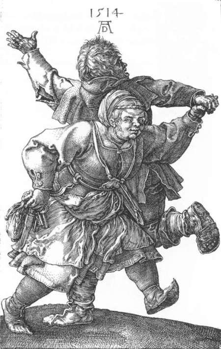 Albrech Dürer - Tanzendes Bauernpaar