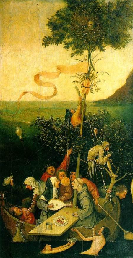 Hieronymus Bosch - Het narrenschip (1494)