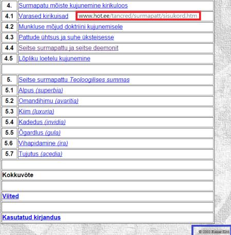 2001 noorliikme referaat