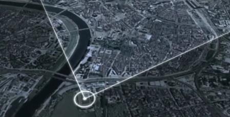 dresdeni pommitamise trajektoor