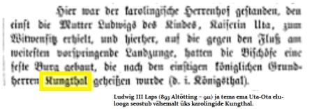 Kungthal Köningsthal ehk Uta ja Ludwig